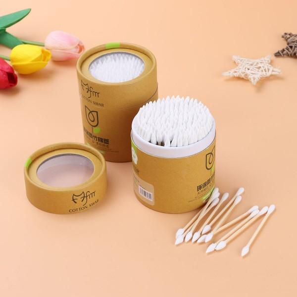 Бамбуковые ватные палочки ( 200 шт)