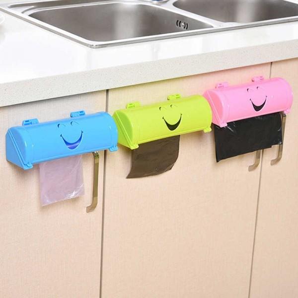 Кухонный органайзер для хранения мусорных мешков
